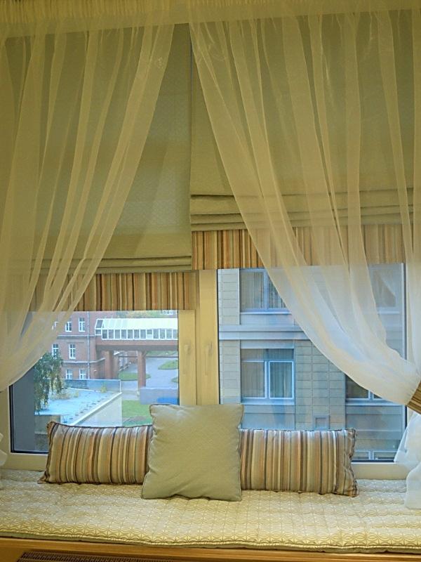 Японские шторы в гостиную фото